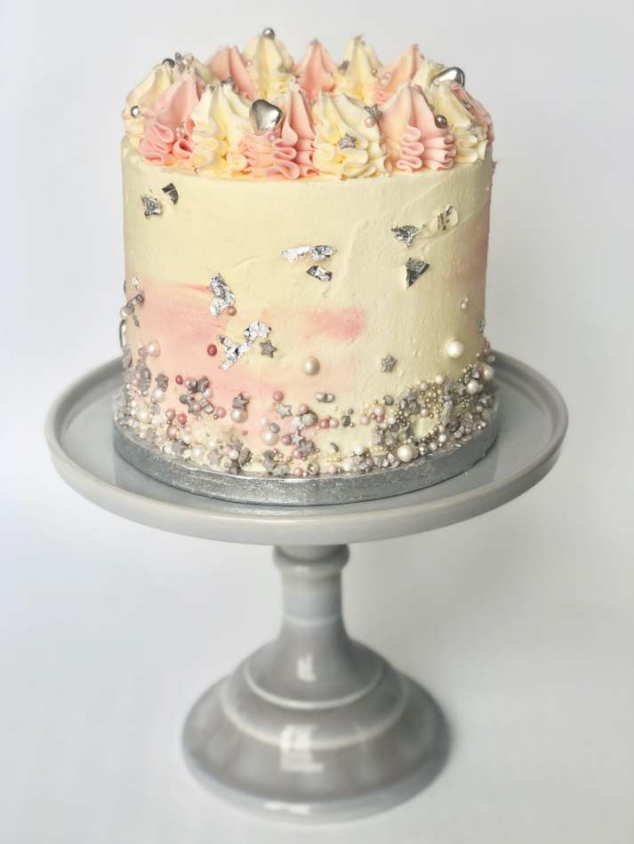 Super Blush Sprinkles Layer Cake Funny Birthday Cards Online Amentibdeldamsfinfo