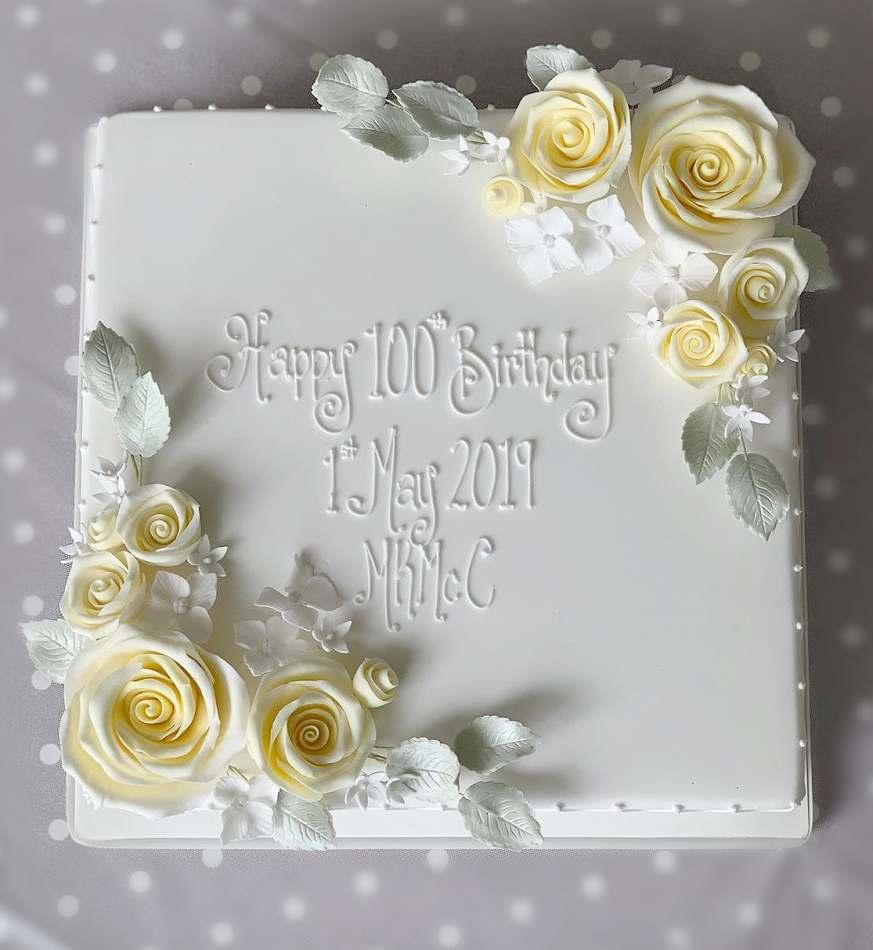 Fabulous 100Th Birthday Cake Birthdays Birthday Cards Printable Nowaargucafe Filternl