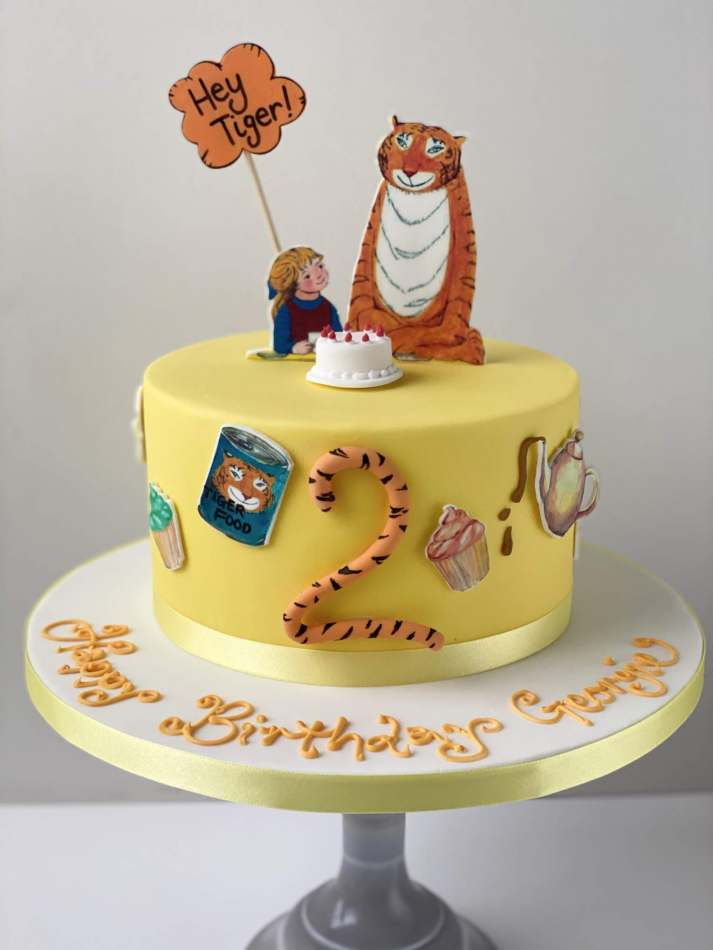 Tiger Who Came To Tea Cake Birthdays