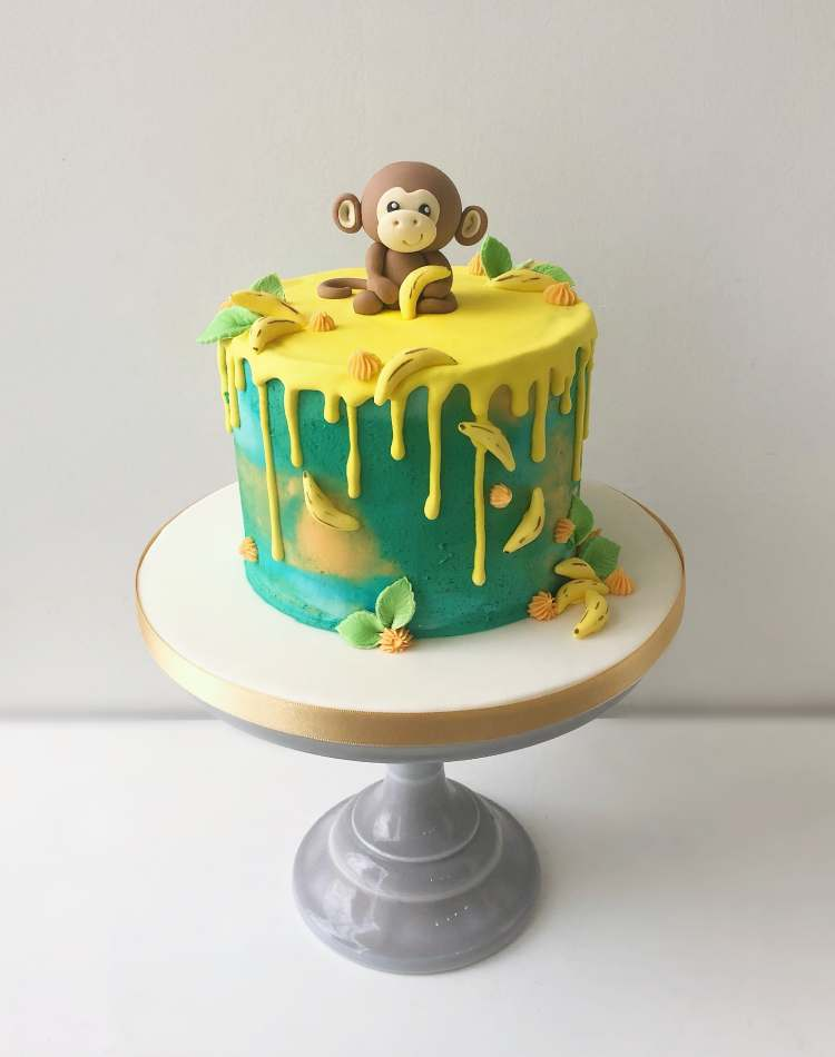 Incredible Cheeky Monkey Layer Cake Celebration Cakes Funny Birthday Cards Online Alyptdamsfinfo