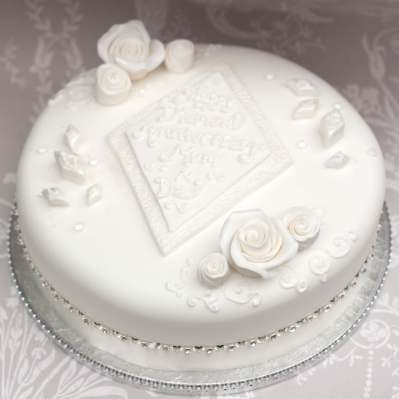 diamond wedding cakes anniversary cakes celebration cakes edinburgh glasgow 13514