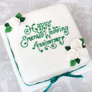 Wedding Anniversary Cakes | Ruby Golden Diamond Wedding | Scotland