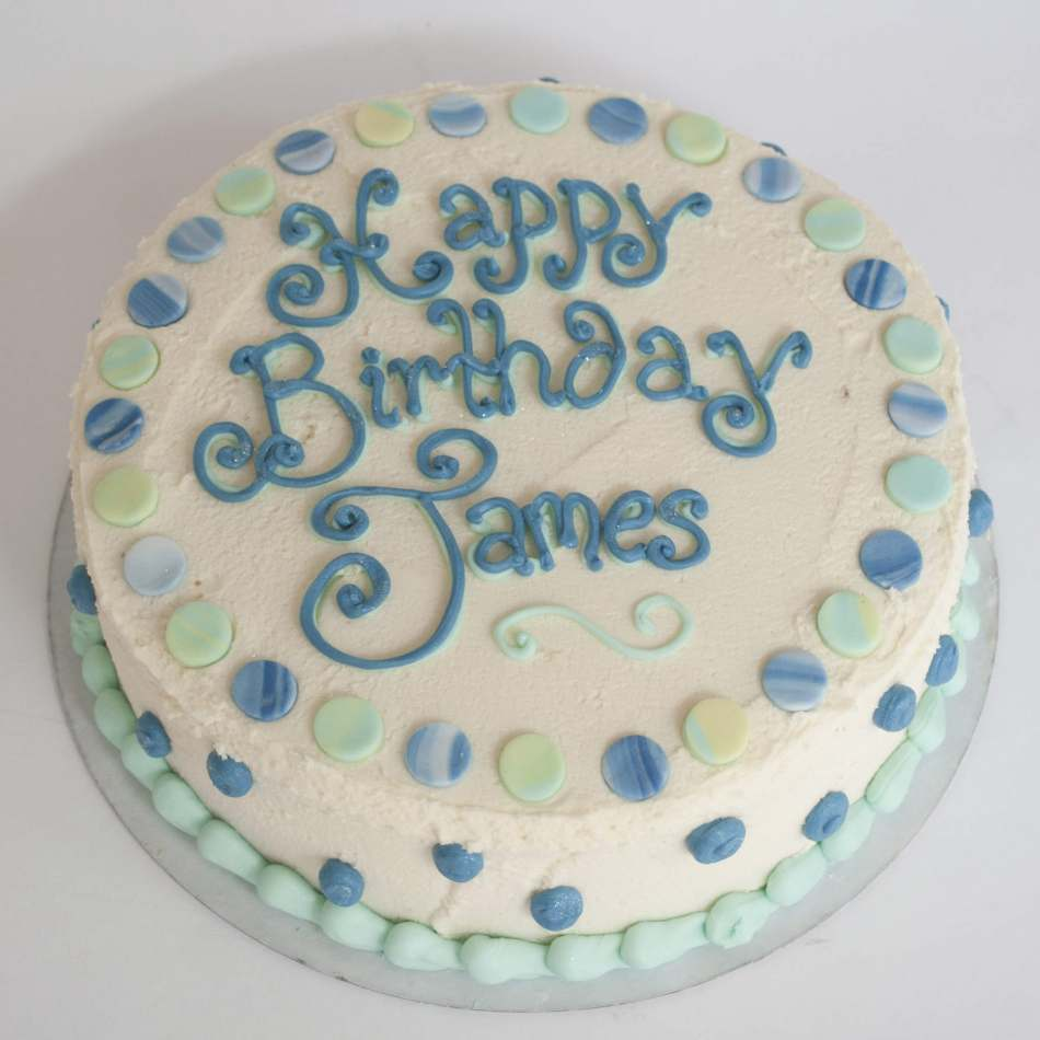Buttercream Birthday Cake Boys Birthdays Cakes