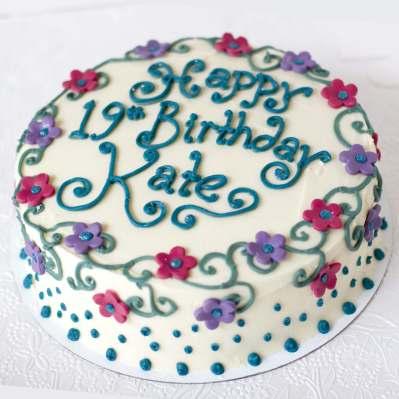 buttercream birthday cake