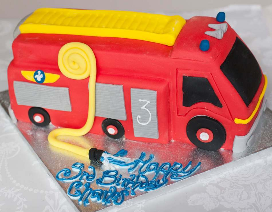 Fire Truck Children Birthdays