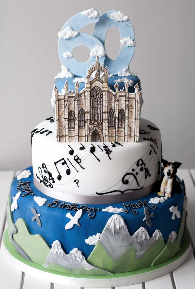 Guitar Birthday Cake Glasgow Image Inspiration of Cake and