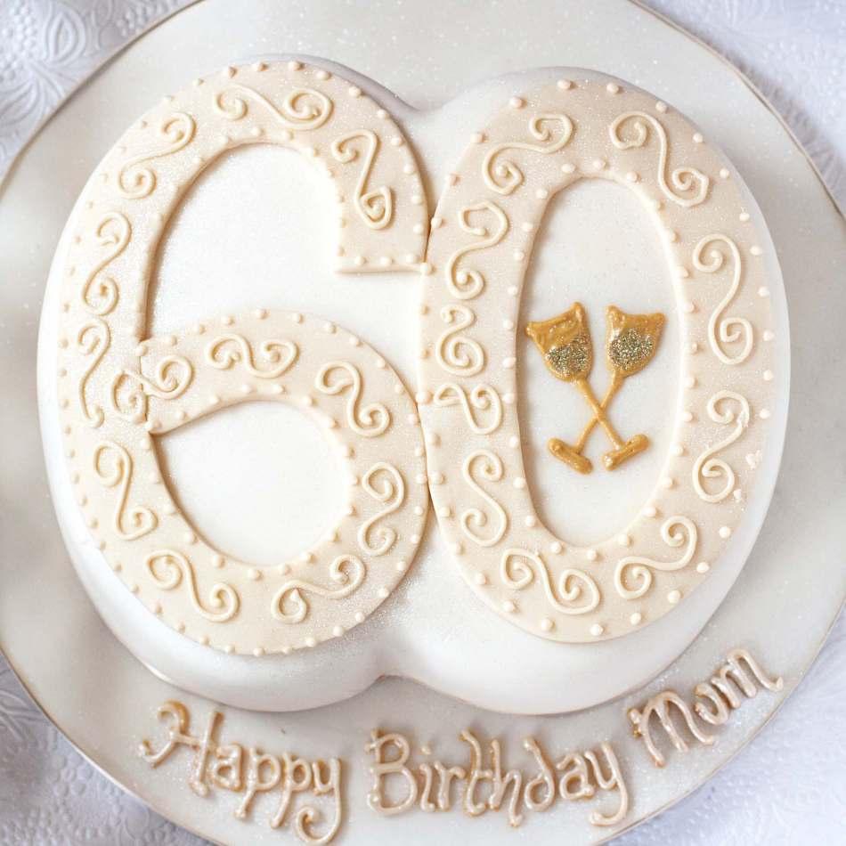 Number Champagne Cake Birthdays