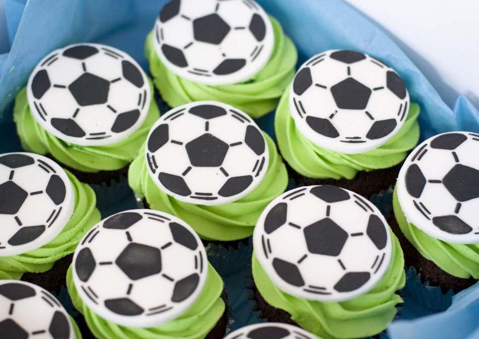Football Cupcakes Cupcakes