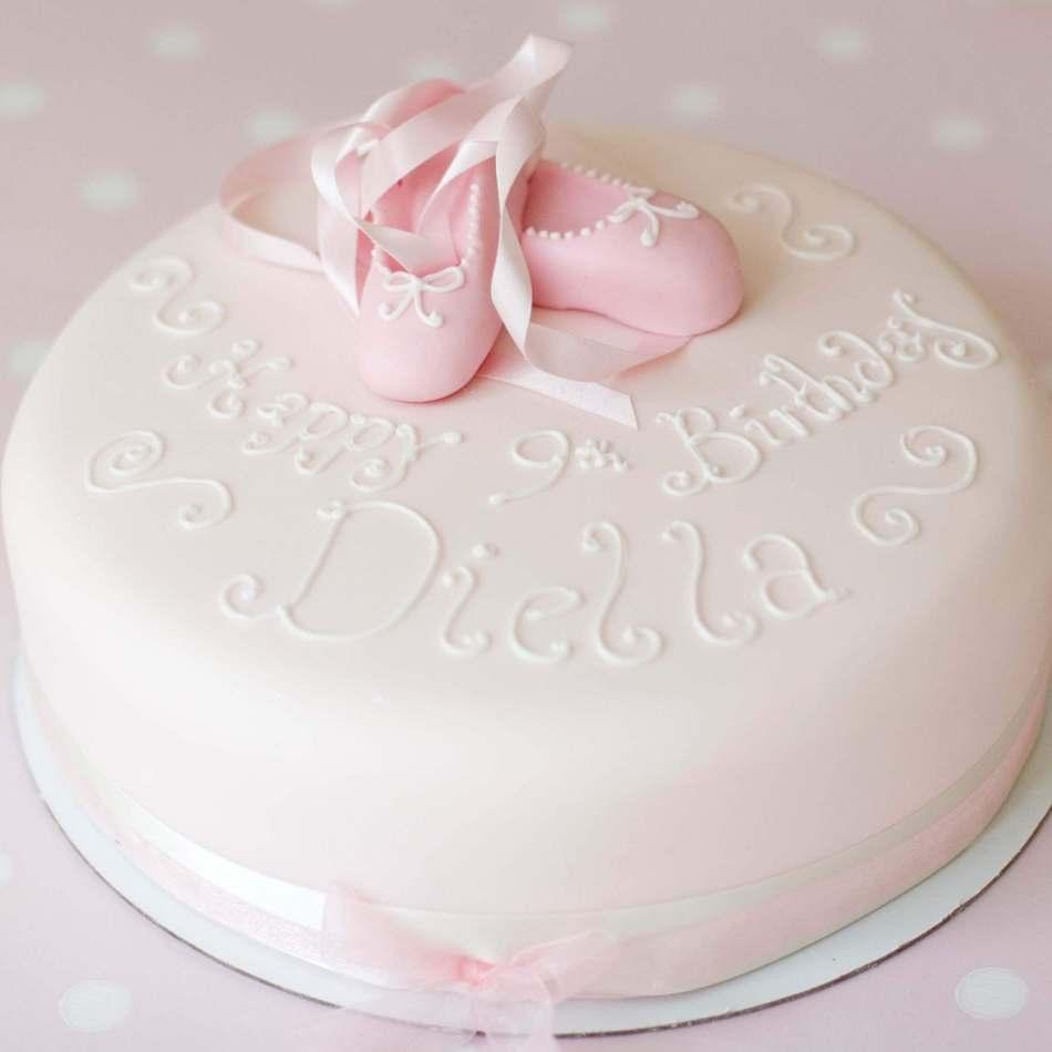 Phenomenal Ballerina Cake Birthday Cakes Birthday Cards Printable Opercafe Filternl