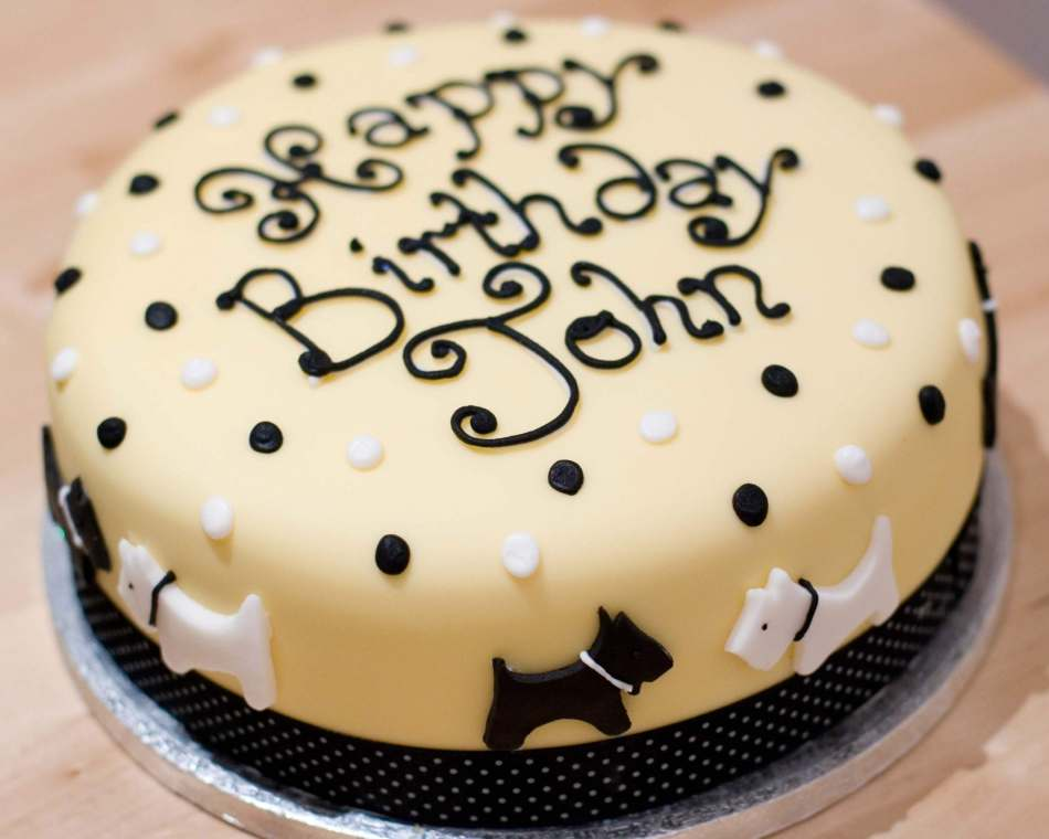 Birthday Cake For John : Westie Birthday Cake Glasgow ~ Image Inspiration of Cake ...