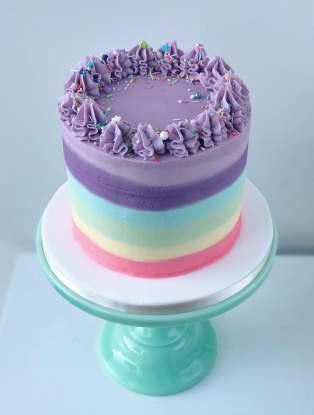 Fruit Pastilles Layer Cake