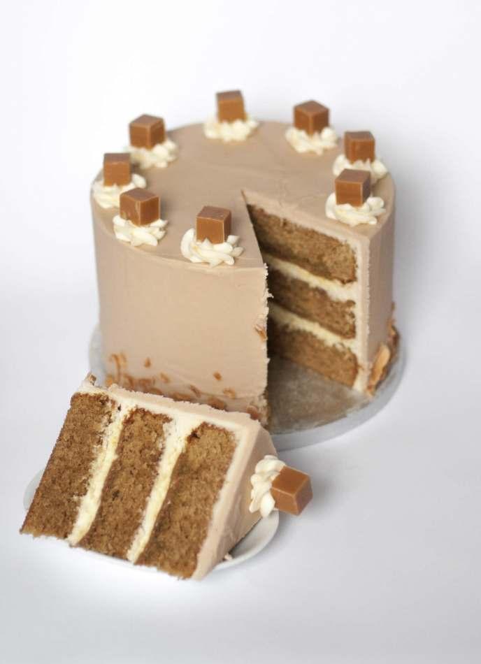 Salted Caramel Layer Cake | Layer Cakes