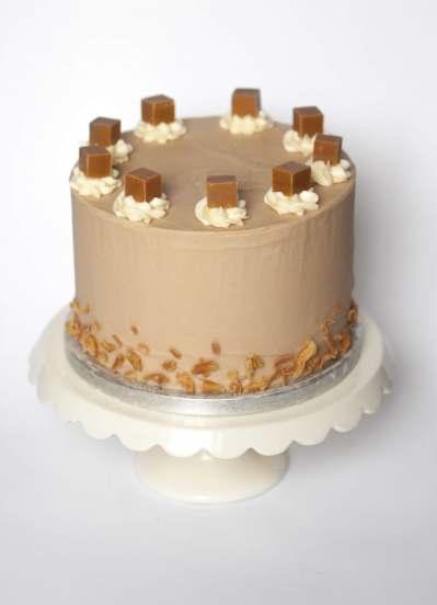 Peggy Porschen Salted Caramel Cake Recipe