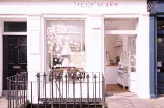 Our cake shop in Edinburgh