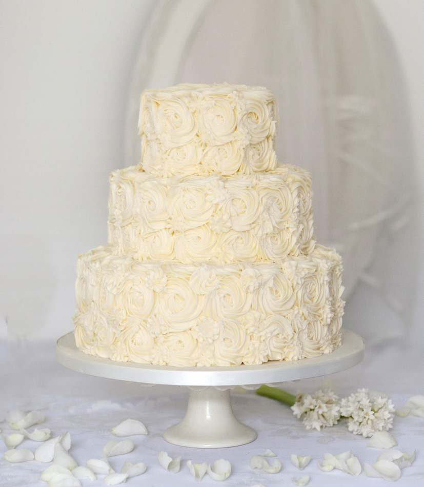 Buy online wedding cake buttercream wedding cake scotland rosette buy online wedding cake junglespirit Images