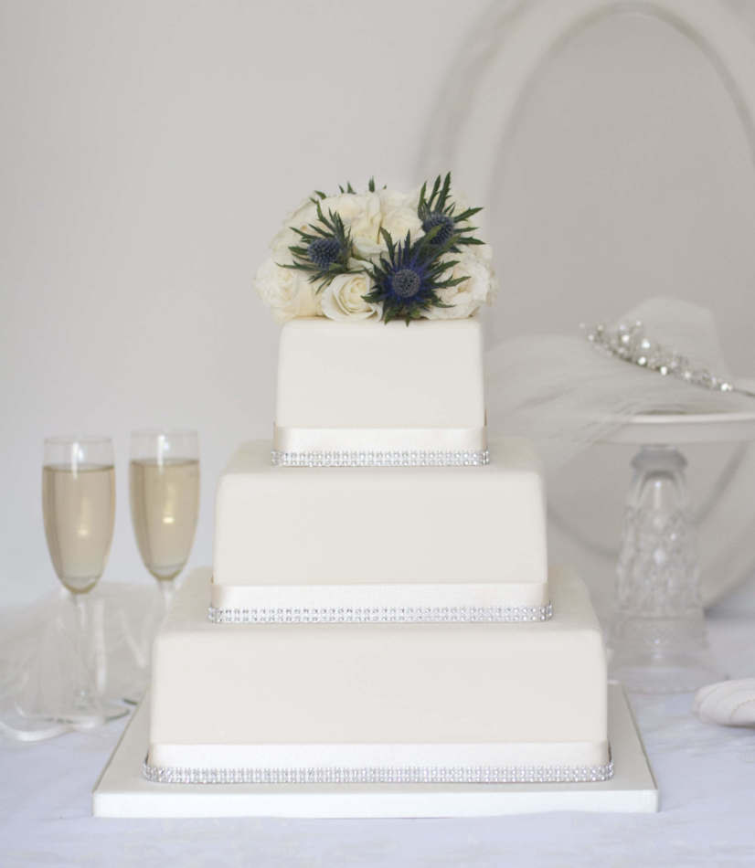 Wedding Cake Decor Uk : Wedding cakes to buy online Edinburgh, Glasgow, Across ...