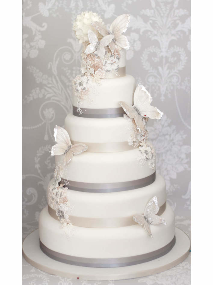 Aurora Butterfly Wedding Cakes